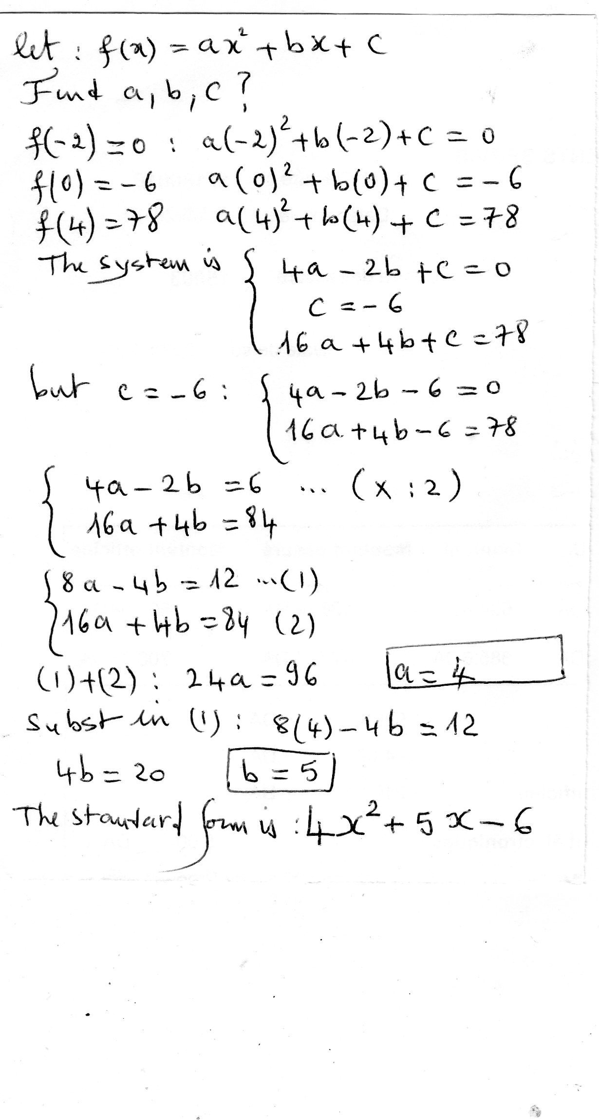 What is the equation in standard form of a parabola that models download jpg falaconquin