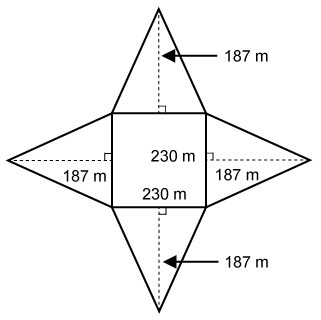 an analysis of the dimensions of the great pyramid Called the great pyramid, it is the largest of the three, the length of  this figure  is based on an analysis of the area of the barracks used by the.