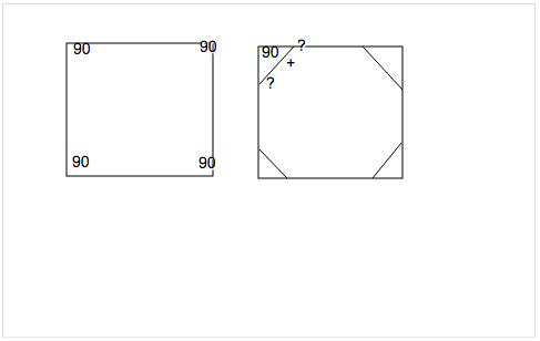 A Stop Sign Is In The Shape Of A Regular Octagon What Is The Measure Of Each
