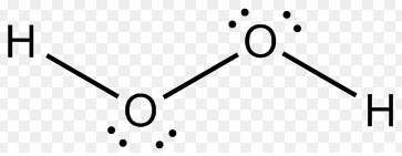 Which is the correct Lewis structure for hydrogen peroxide ... H2co2 Lewis Dot Structure