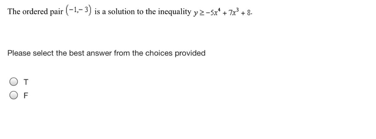 Please select the best answer from the choices provided T ...