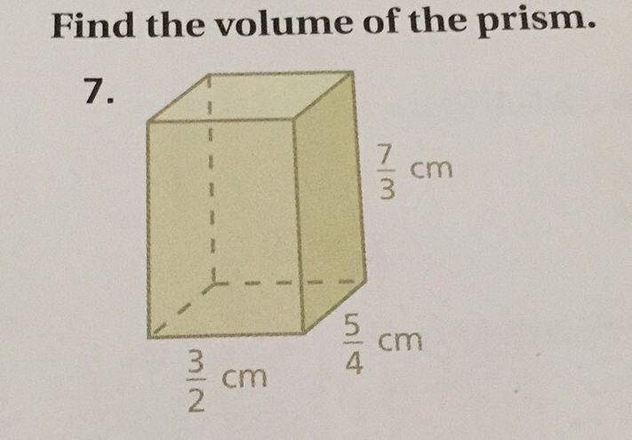 how to find the volume of a tr prism