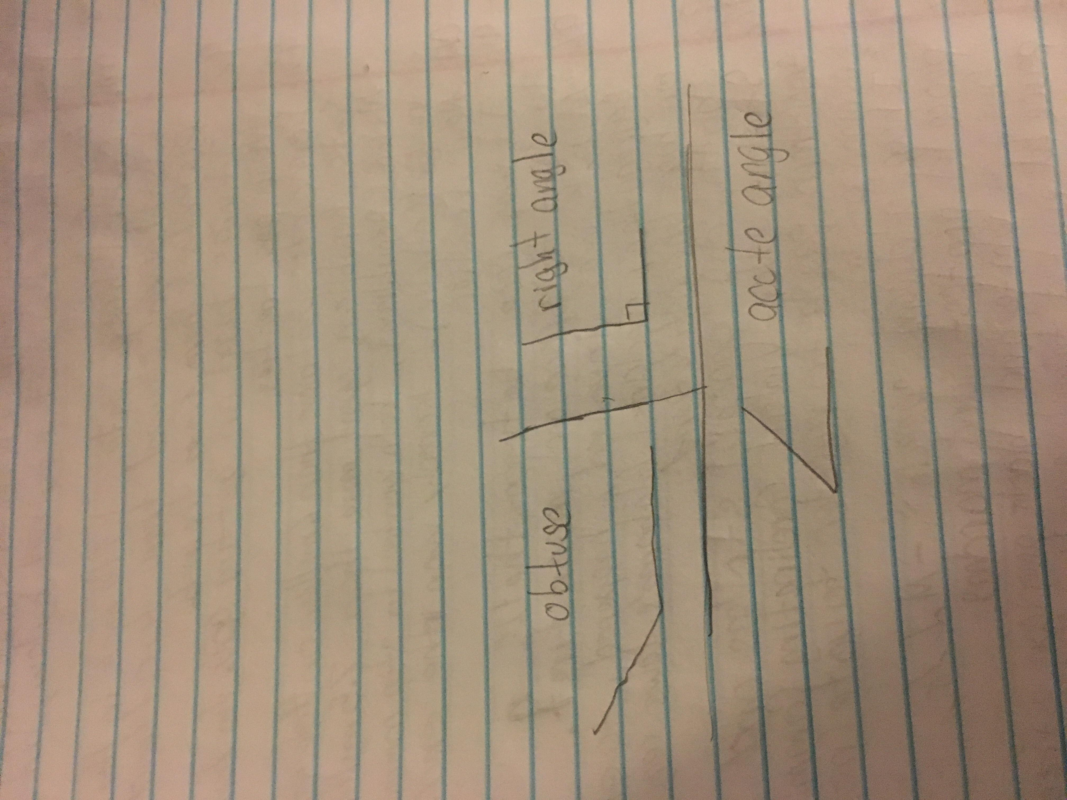 draw an example of a shape that has at least one right angle