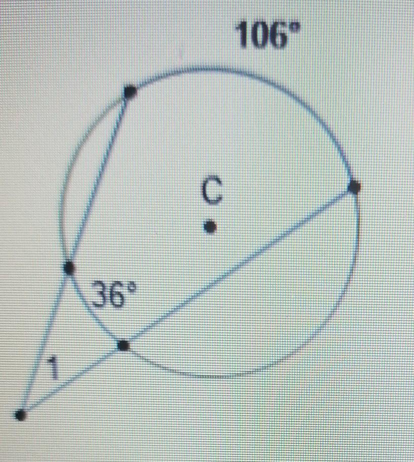 In The Diagram Of Circle C What Is The Measure Of Lt 1 17 35 70 71 Brainly Com