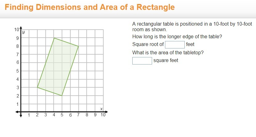 table dimensions in feet help a rectangular table is positioned in a 10 foot by 10 foot