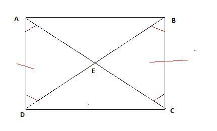 The figure below shows rectangle ABCD: The following two