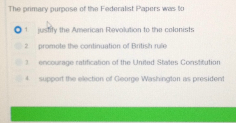 Why Were the Federalist Papers Written?