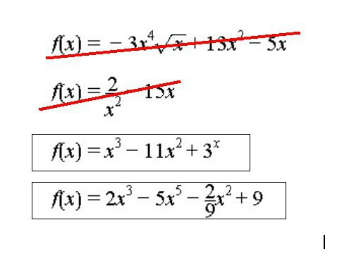 Which of the following expressions is a polynomial ...