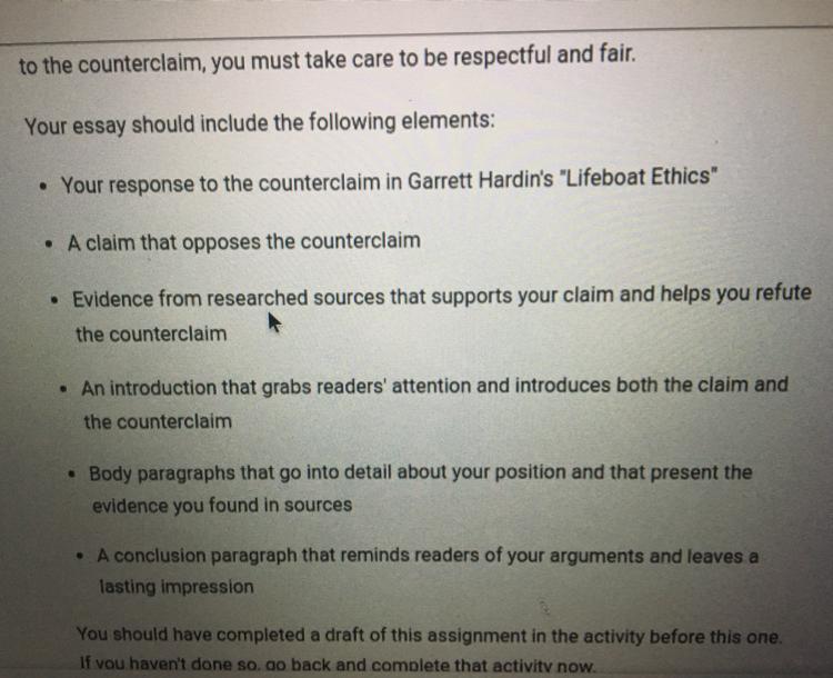 garrett hardins controversial essay lifeboat ethics