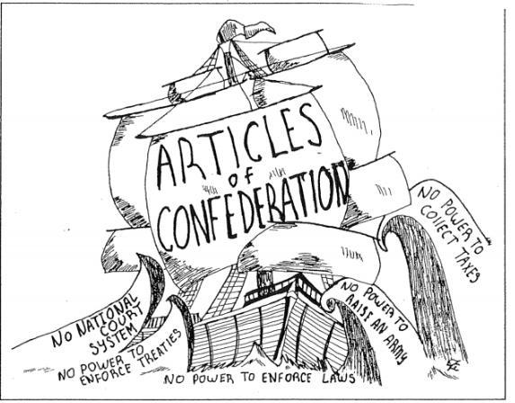 1a. Based on this cartoon, identify two problems with the