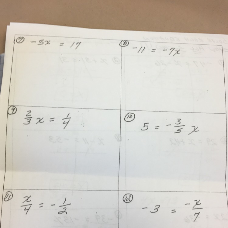 Help me on my math homework