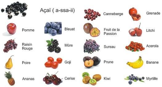 Does any one have a pic of a list of fruits translated to - Liste fruits exotiques avec photos ...