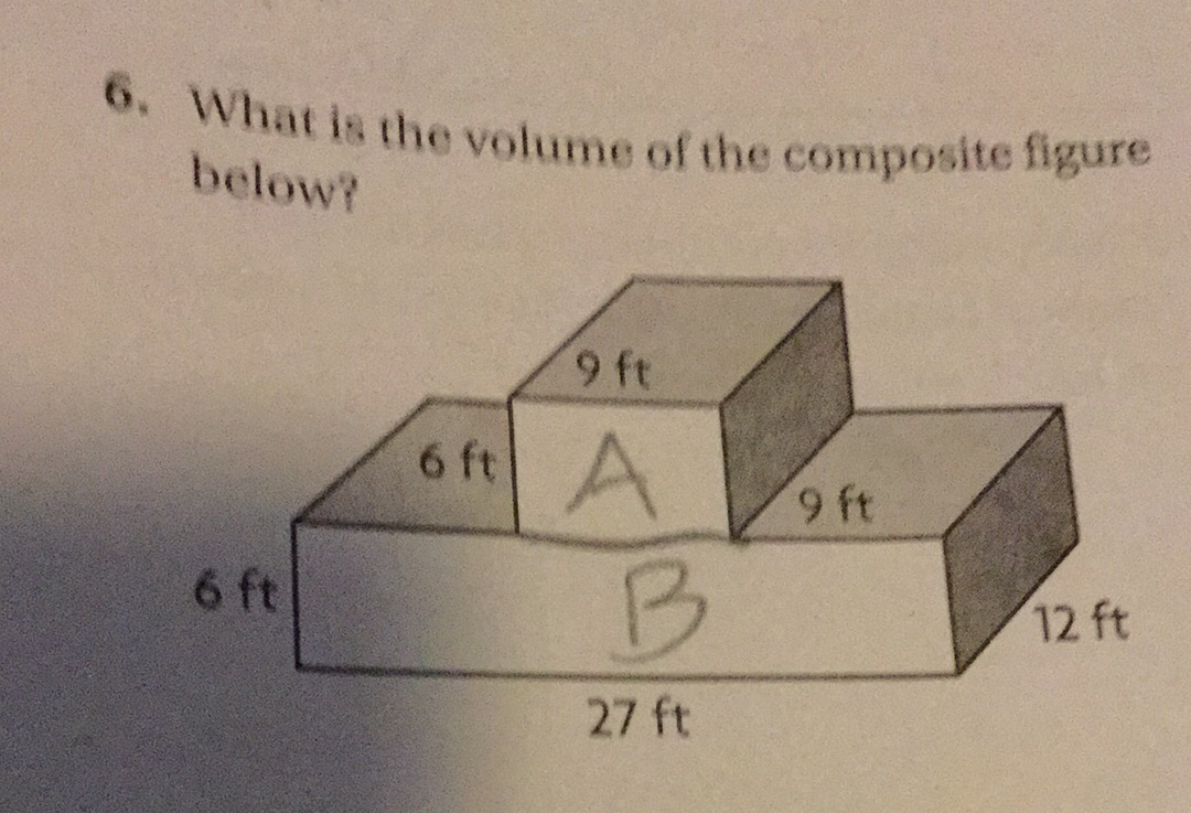 how to solve composite figures
