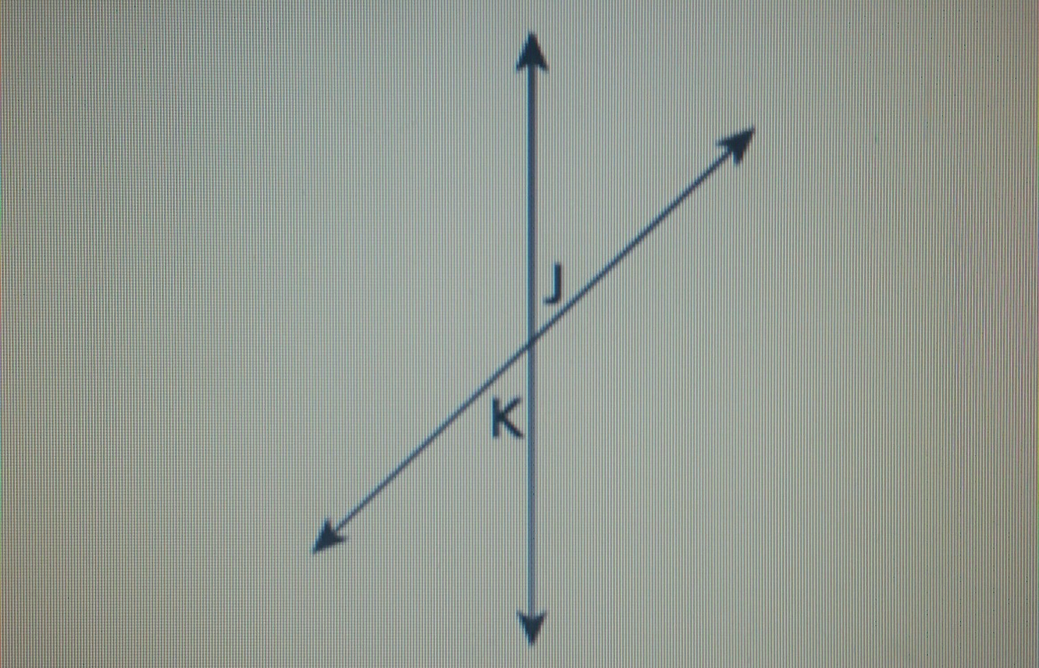 angle j and angle k are vertical angles as shown in the ...