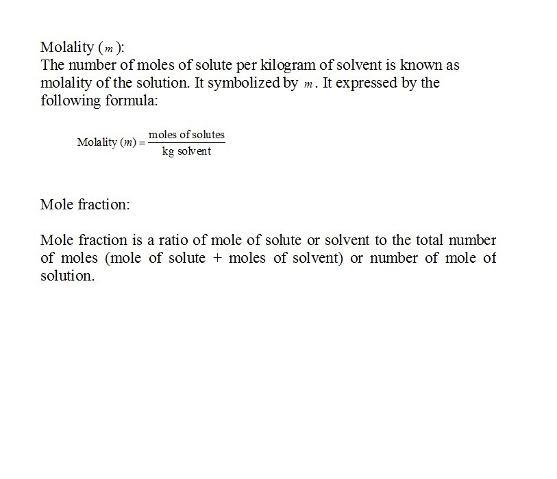The molality of calcium chloride (CaCl2) in an aqueous ...