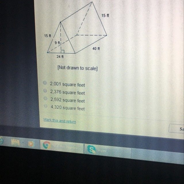 What Is The Surface Area Of The Triangular Prism Brainly Com