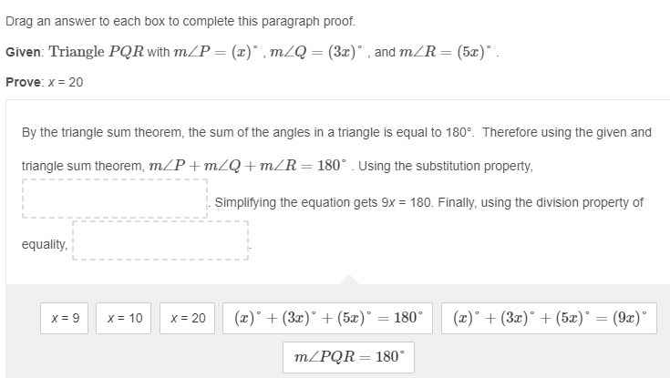 drag an answer to each box to complete this paragraph