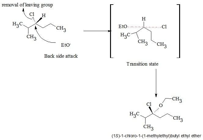 Part b (r)–3-chloro-2-methylhexane will undergo a