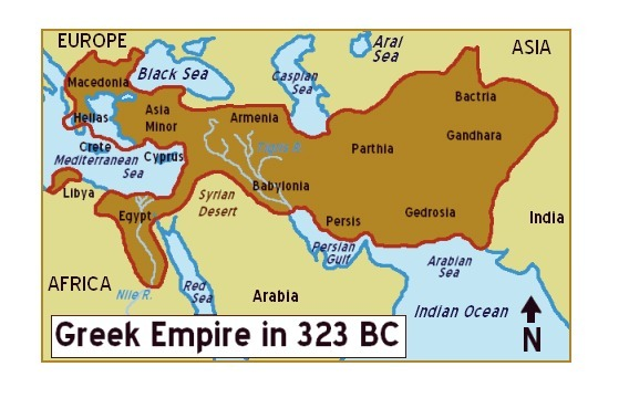 The Map Above Shows The Expansion Of The Greek Empire Which - What does this map tells us about african independence brainly