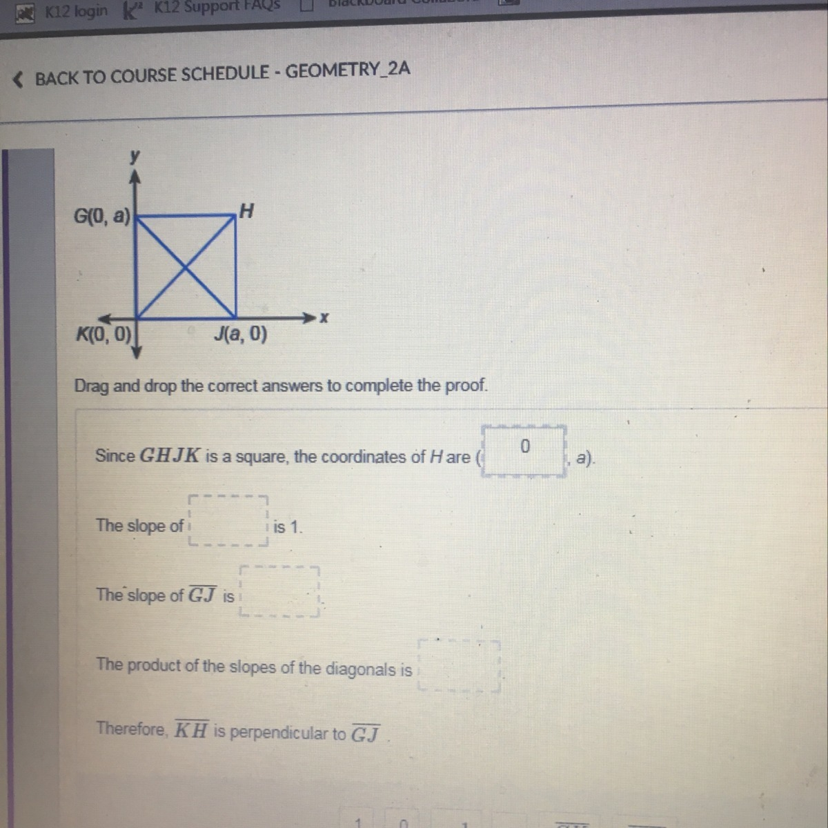 are the diagonals of a rectangle perpendicular