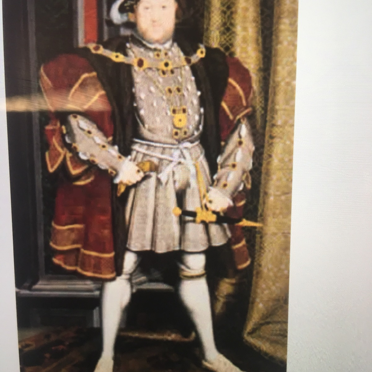 The Above Painting Is Of King Henry Viii Which Artist Painted This