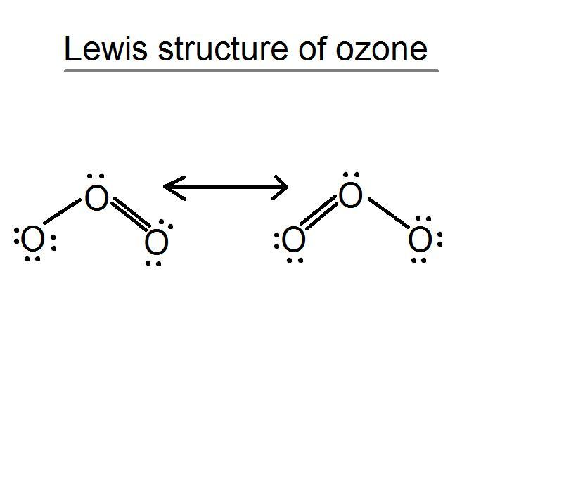 o3 lewis dot diagram o3 lewis structure  o3 lewis structure