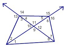 Use The Exterior Angle Theorem To Determine Which Of The Following Angle Measures Is Not Less