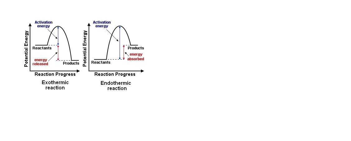 How Does The Potential Energy Diagram For A Reaction Indicate