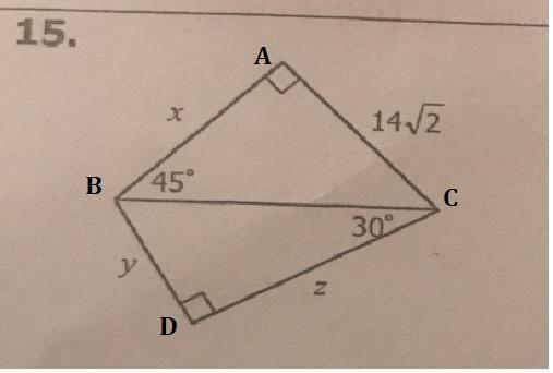 Unit 8: Right Triangles & Trigonometry Homework 2: Special ...