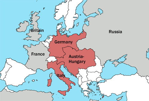 Map Of Germany And Hungary.What Aspect Of The Schlieffen Plan Is Illustrated By This Map If